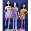 Fashionistas 3 pak Display Dolls