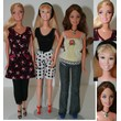 Barbie 3 Dressed Dolls (101)