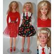 Career Barbie Dolls (2) Display