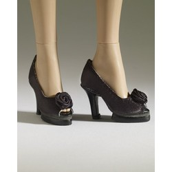 Nu Mood High Heel #5 (Black)