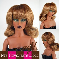 Debbie Wig Strawberry 4-5 Size