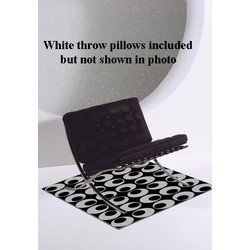 High Definition Luxury Décor Barbelona Chair (Black)
