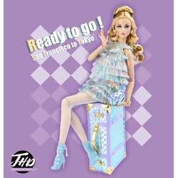 Platinum Journey: Ready to go Mizi Dressed Doll