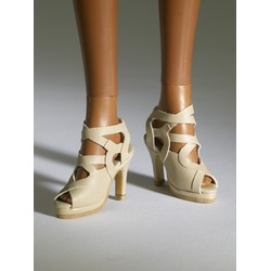 Nu Mood High Heel #1 (Beige)