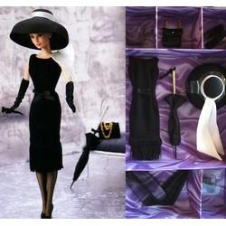 Black Cocktail Dress Fashion  (Audrey Hepburn)