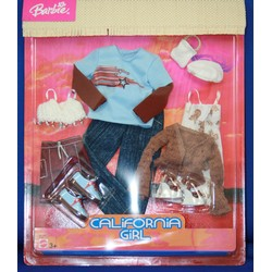 California Girl Barbie & Ken Fashion Set C7209