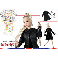 Friday Night Frug Poppy Parker™ Dressed Doll