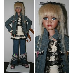Lizzie Jan McLean Doll