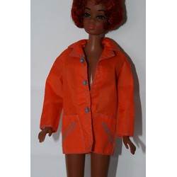 Orange Nylon Jacket