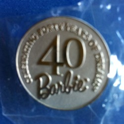 Pin - Barbie 40th Anniversary