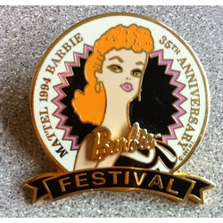 Pin - Barbie 35th Festival Pin