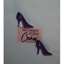 DDC Shoes - Purple Pumps (Spikes)