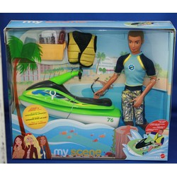 My Scene Surf Rider Gift Set with Tyson Doll