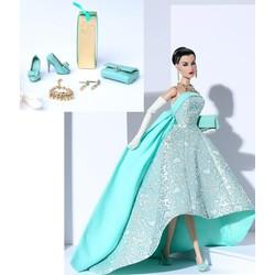 Turquoise Sparkler Evelyn Doll
