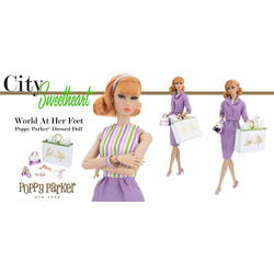 World At Her Feet Poppy Parker Doll