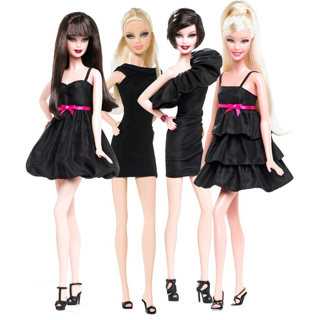 Barbie Basic Collection 001.5 (4 Dolls