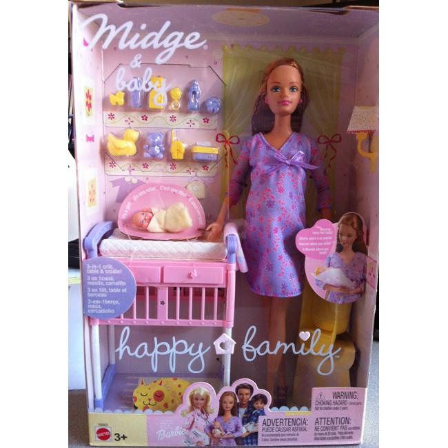 Pregnant barbie doll