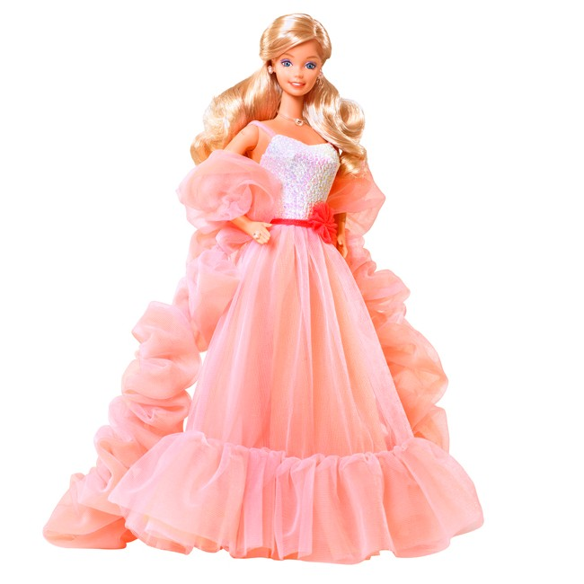 Peaches'n Cream Barbie Doll