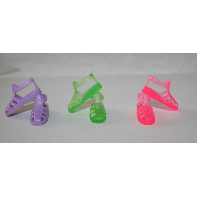 e44e30129267 My Favourite Doll - Shoes - Barbie Jelly Sandals