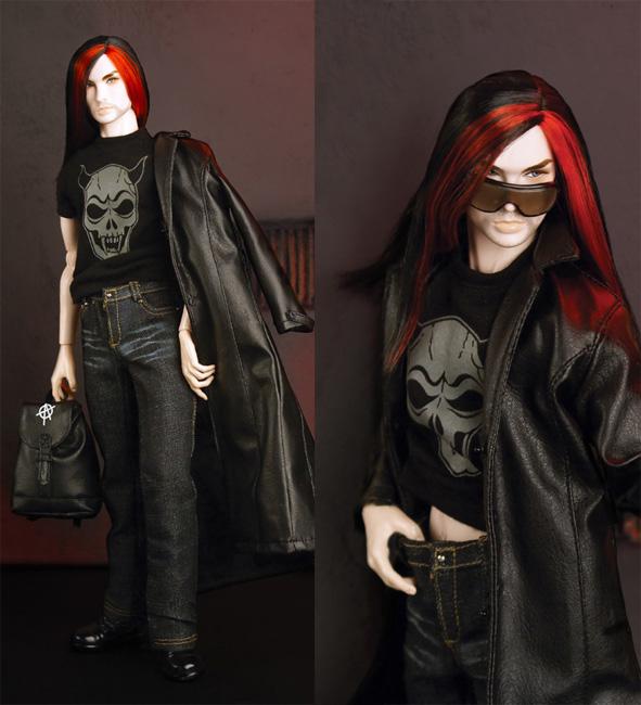 My Favourite Doll Acheron Dark Hunter Doll