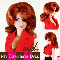Destiny Wig Double Red Size 4