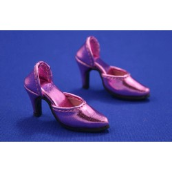 Easy to Wear Tyler Shoes Metallic Pink