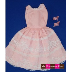Lace Cotton Sundress - Pink DDC