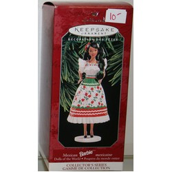 Hallmark Mexico Dolls of the World  Ornament