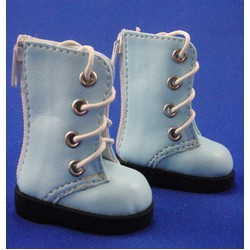 Blue Lace Up Boots (1/6)